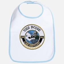 USS BOISE Bib