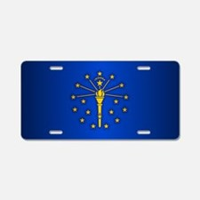 Indiana (v15b) Aluminum License Plate