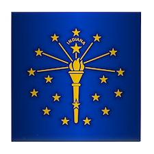 Indiana (v15b) Tile Coaster