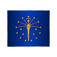 Indiana (v15b) Throw Blanket