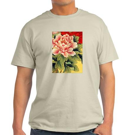 Chinese Brush Painting - Peon Light T-Shirt