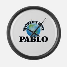 World's Best Pablo Large Wall Clock