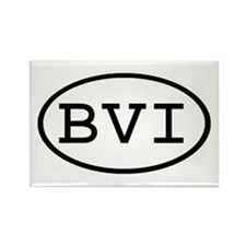 BVI Oval Rectangle Magnet