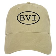 BVI Oval Baseball Cap