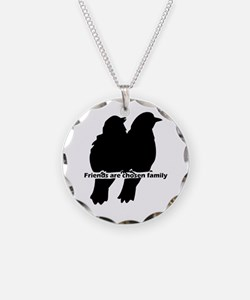 Friends Are Chosen Family Necklace