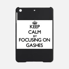 Keep Calm by focusing on Gashes iPad Mini Case