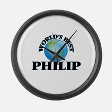 World's Best Philip Large Wall Clock