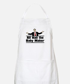 Hail the Baby Maker BBQ Apron