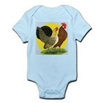 Red Quill Chickens Infant Bodysuit