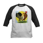 Red Quill Chickens Kids Baseball Jersey
