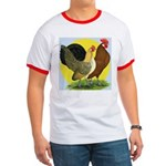 Red Quill Chickens Ringer T