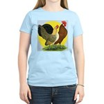 Red Quill Chickens Women's Light T-Shirt