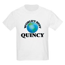 World's Best Quincy T-Shirt