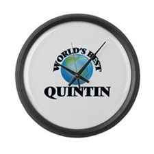 World's Best Quintin Large Wall Clock