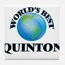 World's Best Quinton Tile Coaster