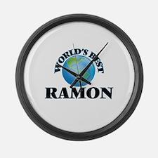 World's Best Ramon Large Wall Clock