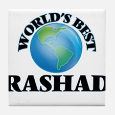 World's Best Rashad Tile Coaster
