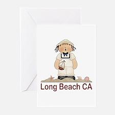 Long Beach Sailor Greeting Cards (Pk of 10)