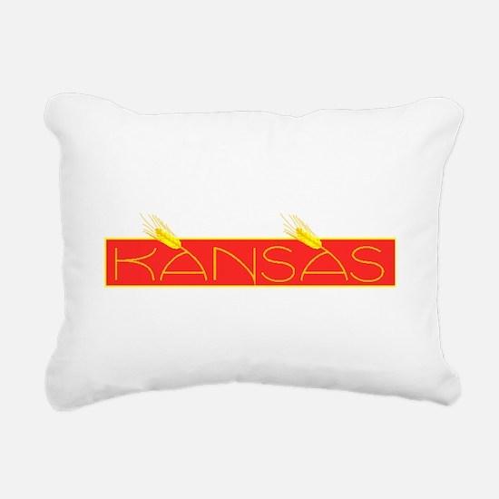 Kansas Rectangular Canvas Pillow