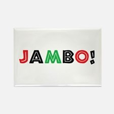 jambo Rectangle Magnet