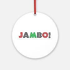 jambo Ornament (Round)