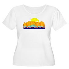 California Plus Size T-Shirt