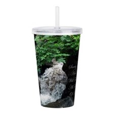 Surely Goodness & Merc Acrylic Double-wall Tumbler