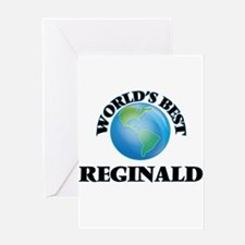 World's Best Reginald Greeting Cards