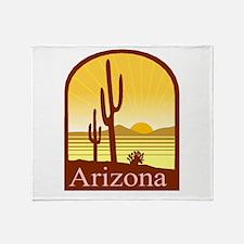 Arizona Throw Blanket