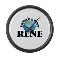 World's Best Rene Large Wall Clock