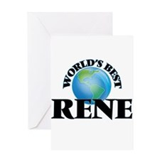 World's Best Rene Greeting Cards