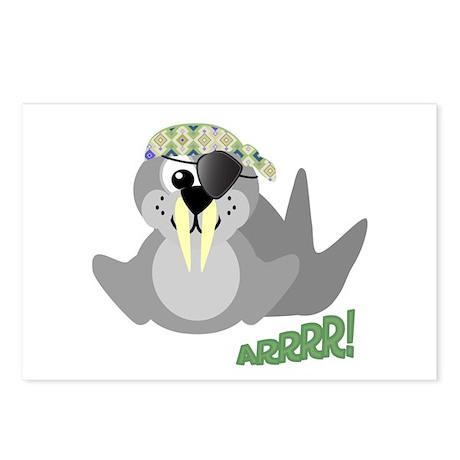 Goofkins Walrus Pirate Postcards (Package of 8)