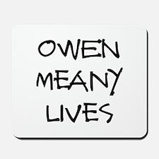 Owen lives! Mousepad