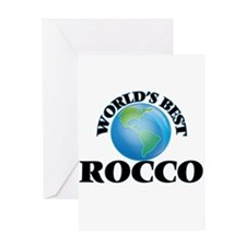 World's Best Rocco Greeting Cards