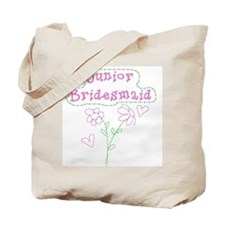 Flowers Junior Bridesmaid Tote Bag