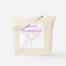 Flowers Junior Bridesmaid Tote Bag
