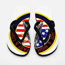 f-117_patch_f117.png Flip Flops