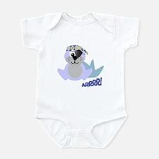Goofkins Baby Seal Pirate Infant Bodysuit