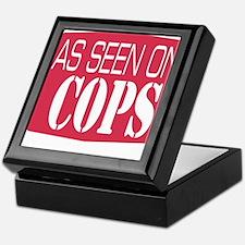 As Seen On Cops Keepsake Box