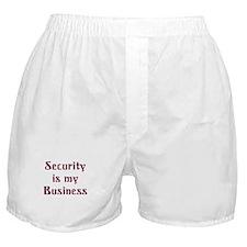 Security Guard Boxer Shorts