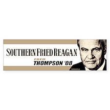 Southern Fried Reagan Bumper Bumper Sticker