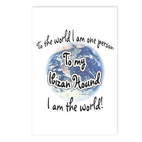 Ibizan Hound World2 Postcards (Package of 8)