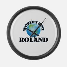World's Best Roland Large Wall Clock