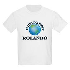 World's Best Rolando T-Shirt