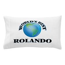 World's Best Rolando Pillow Case