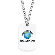 World's Best Rolando Dog Tags