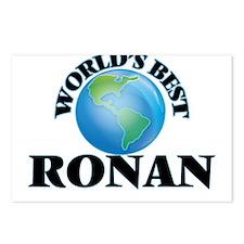 World's Best Ronan Postcards (Package of 8)