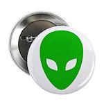 Alien Face - Extraterrestrial Button