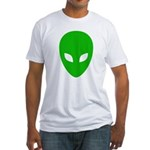 Alien Face - Extraterrestrial Fitted T-Shirt