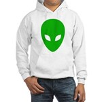 Alien Face - Extraterrestrial Hooded Sweatshirt